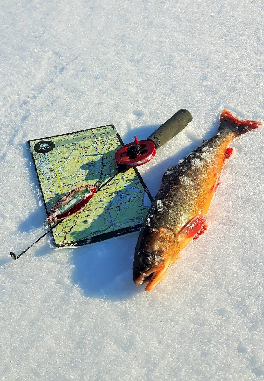 Et kart med gode fiskevann er gull vert!